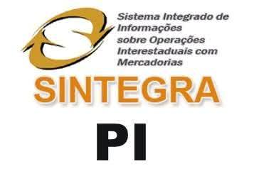 SINTEGRA PI