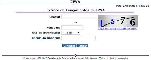 SEFAZ MT IPVA
