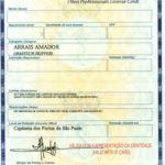 Carteira de Arrais Amador