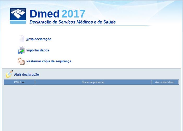 DMED receita federal