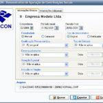 exemplo programa Dacon