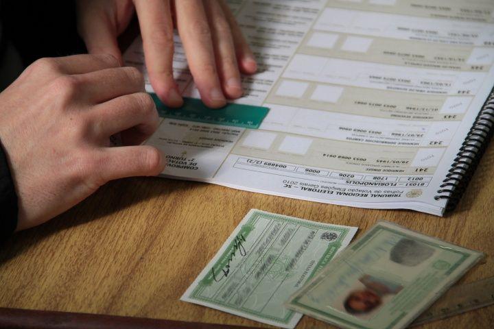 documentos para votação