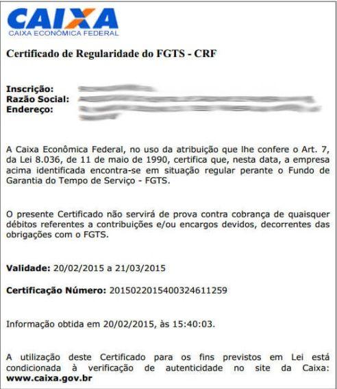 CRF Caixa