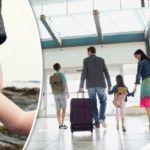 pais viajando com os filhos